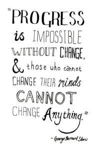 progress is impossible
