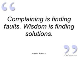 complaining-is-finding-faults-ajahn-brahm