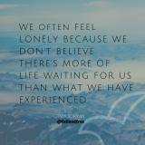 Loneliness – Full&FreeAffirmations