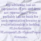 False Expectations &Obligations!