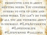 The Productive Life!